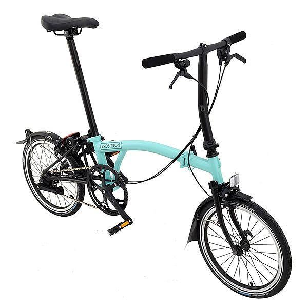 Brompton S2L 2018 Black Edition - Turkish Green