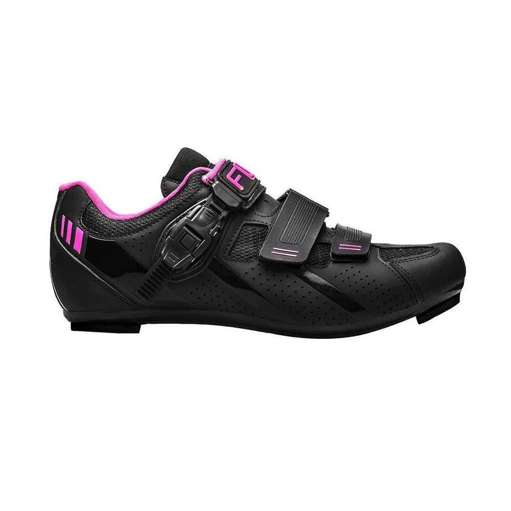 FLR F-15 III Road Shoes - Black/Pink