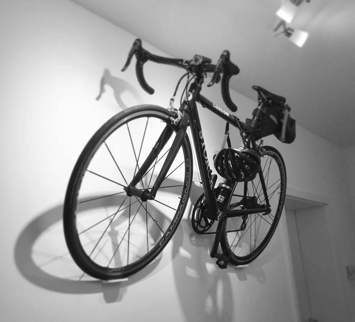 Cycloc Hero Bike Wall Rack - White