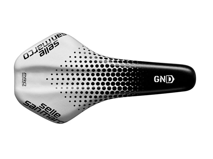 Selle San Marco GND Racing Pro-Series - Black/White