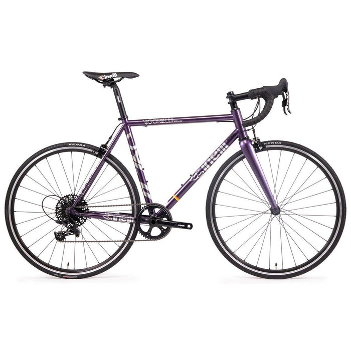 Cinelli Vigorelli Steel Road Bike - Purple