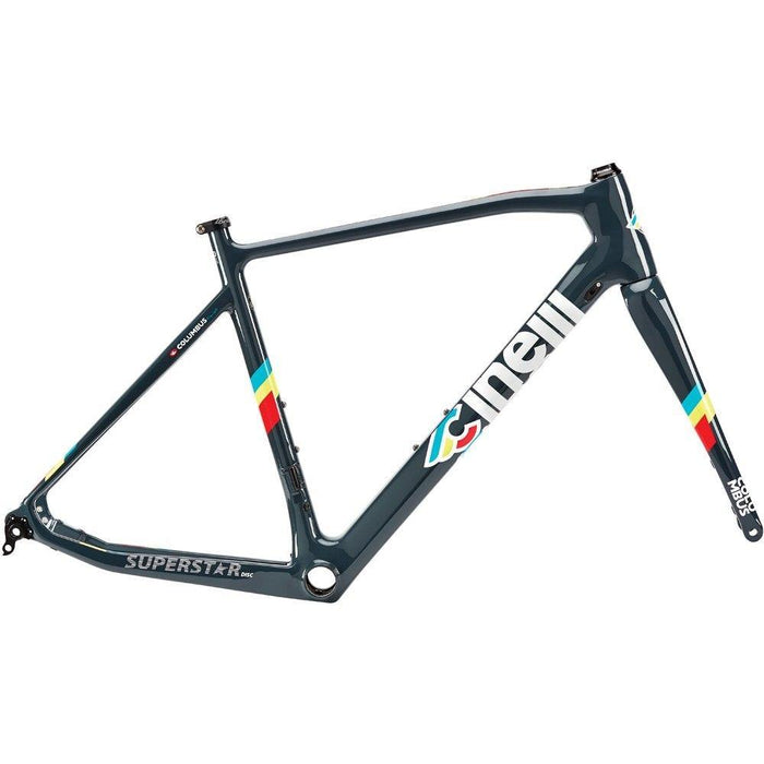 Cinelli Superstar Carbon Road Disc Frameset - Grey Street
