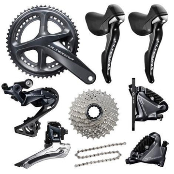 Shimano Ultegra Disc R8020 11 Speed Groupset - SpinWarriors