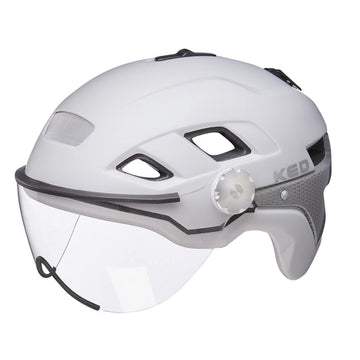 KED Covis Photocromatic Helm Grey//red Matte 2020 Fahrradhelm