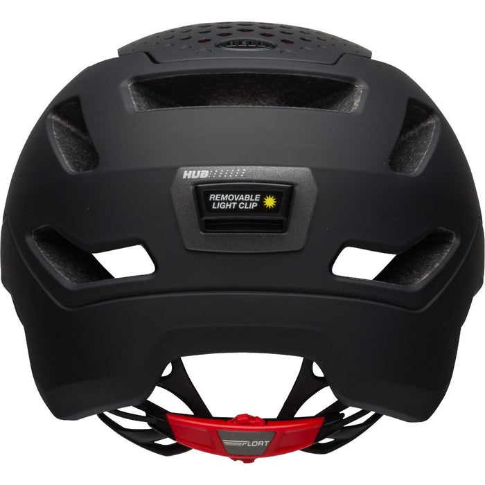 Bell Hub Helmet - Matte Black/Red