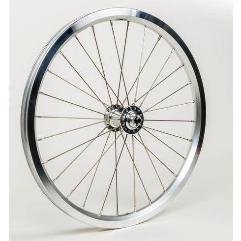 Brompton Superlight Front Wheel - Silver