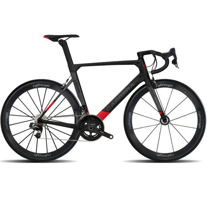 46ea37ff2c Carrera TD01 Air 2019 Frameset - Matte Black Red – SpinWarriors