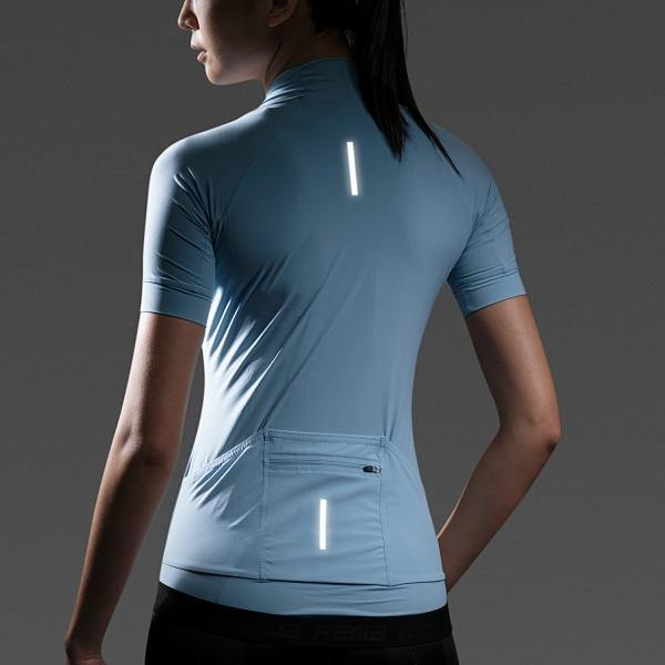 Rema WCT001 Super Light Weight Jersey - Light Blue