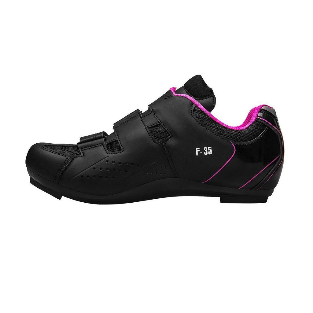 FLR F-35 III Road Shoes - Black/Pink