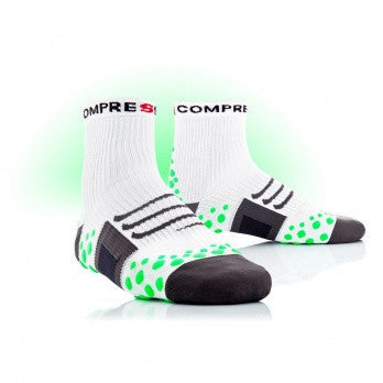 Compressport Bike Pro Racing Socks - White/Green