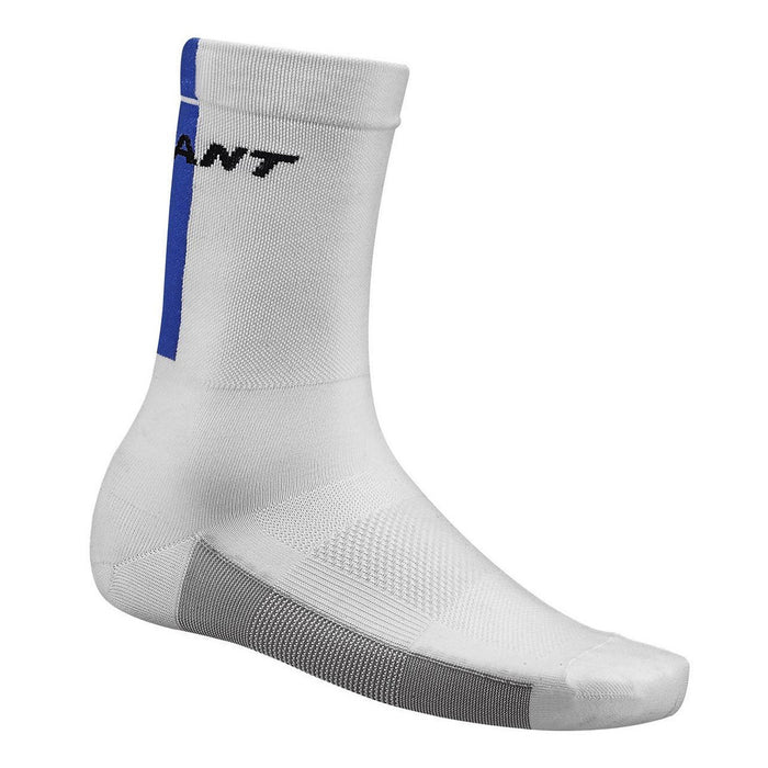 Giant Race Day Socks - White/Blue