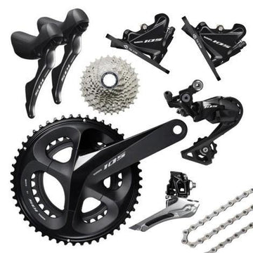Shimano 105 Disc R7020 11 Speed Groupset - SpinWarriors