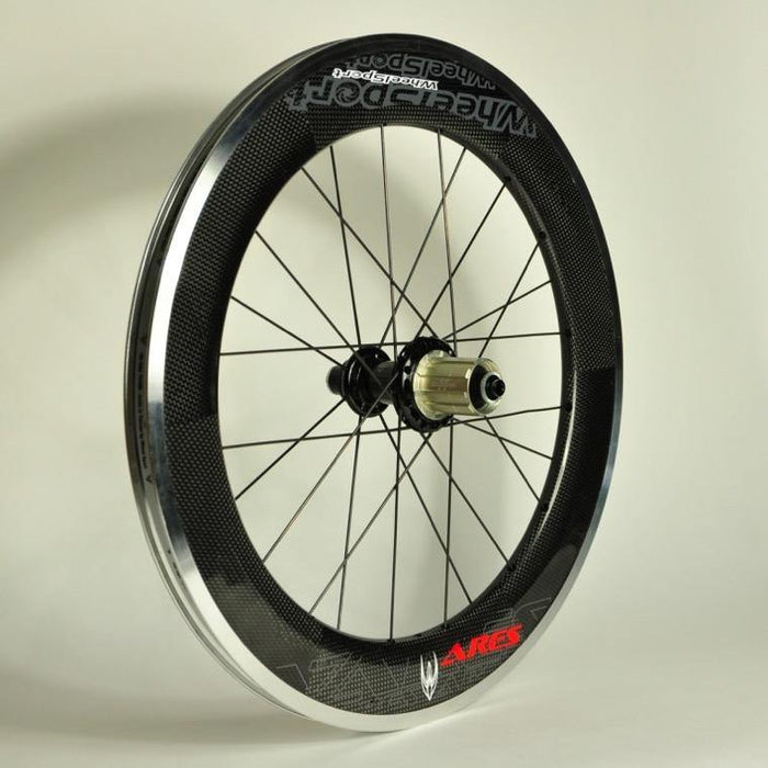 "WheelSport Ares 20"" (451) Carbon Wheelset - Red"