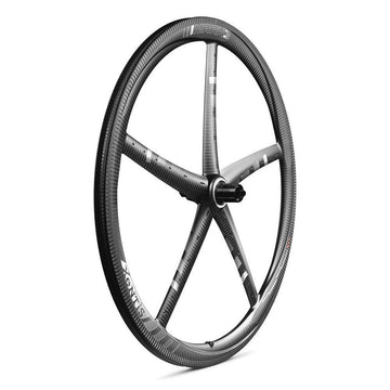 Xentis Mark3 Tubeless Ready Carbon Clincher Wheelset - White  Decal (Pair) - SpinWarriors