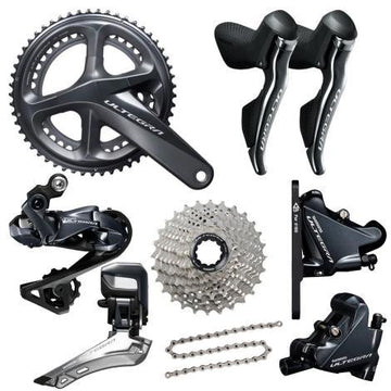 Shimano Ultegra Di2 Disc R8070 11 Speed Groupset - SpinWarriors
