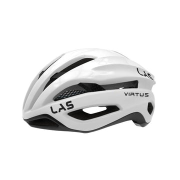 LAS Virtus Carbon Helmet - White Carbon - SpinWarriors