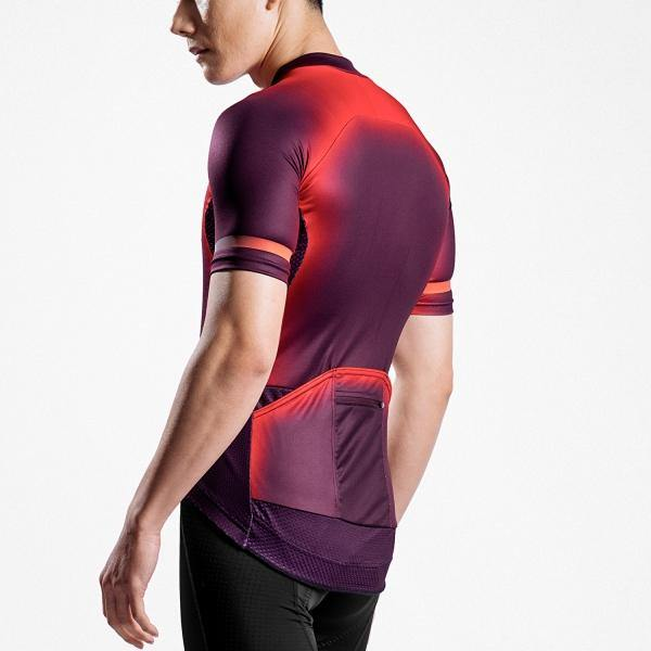 Rema MCT003 Fluorescent Red Patterned Jersey