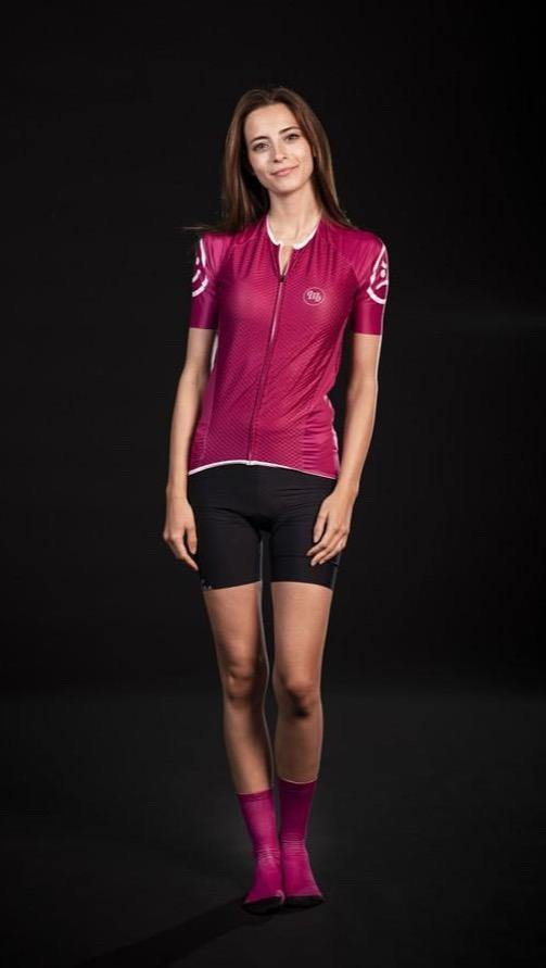MB Wear Ultralight Smile Jersey - Fuxia