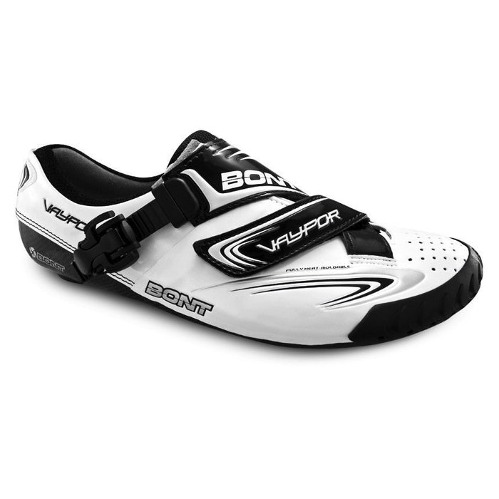 Bont Vaypor Road Shoes - White/Black
