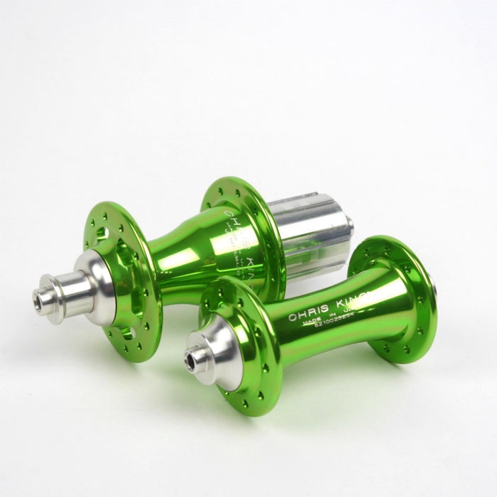 Chris King R45 Ceramic Road Hub Set - Sour Apple (Limited Edition)