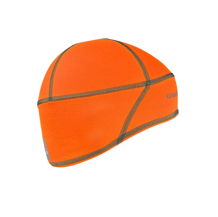 GripGrab Lightweight Thermal Hi-Vis Skull Cap - Orange