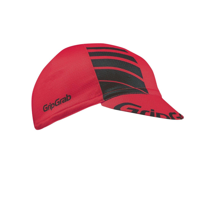 GripGrab Lightweight Summer Cycling Cap - Red