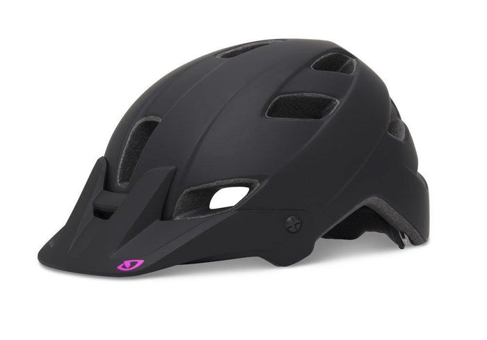 Giro Feather Helmet - Matte Black/Magenta