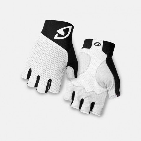 Giro Zero II Gloves - White/Black