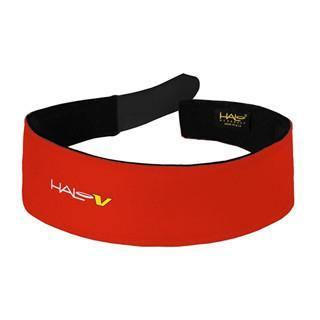 Halo V Velcro Sweatband - Red