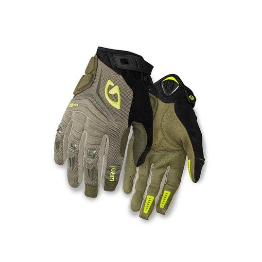 Giro Xen Gloves - Military Spec/Highlight Yellow