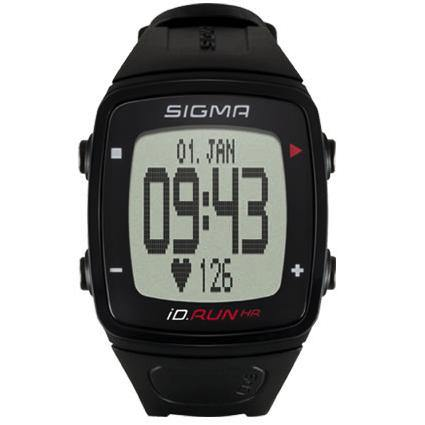 Sigma iD.Run HR Sport Watch - Black