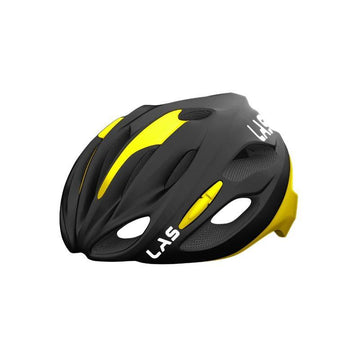 LAS Cobalto Helmet - Matt Black/Yellow - SpinWarriors