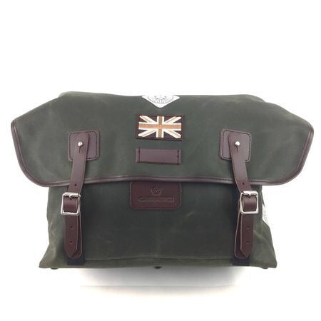 Carradice Brompton Stockport City Folder Bag - Limited Edition Green Union Jack