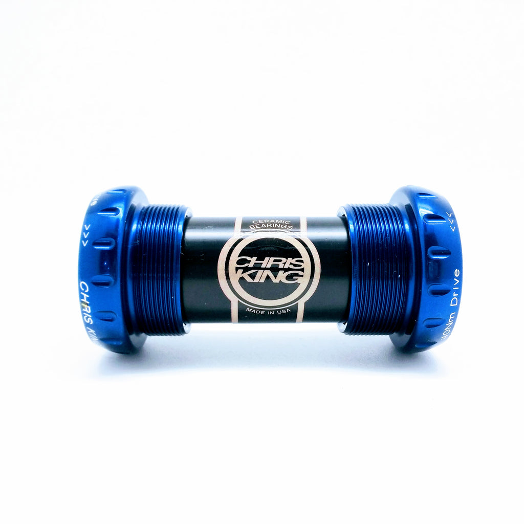 Chris King Threadfit 24 Ceramic Bottom Bracket - Navy Blue