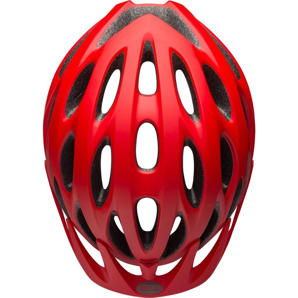 Bell Tracker Helmet - Matte Machine Red