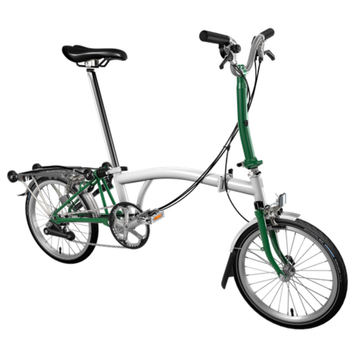 Brompton M6R 2019 - Papyrus White/Racing Green