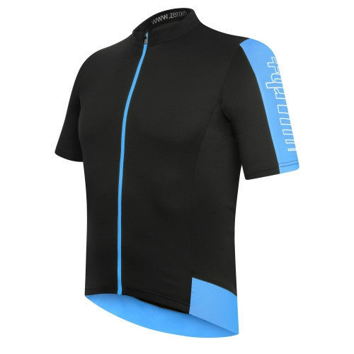 Zero rh+ Energy Jersey FZ - Black/Blue Surf