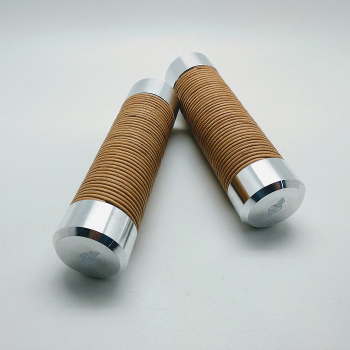 Benheil Brompton Leather Lock Hand Grip - Natural