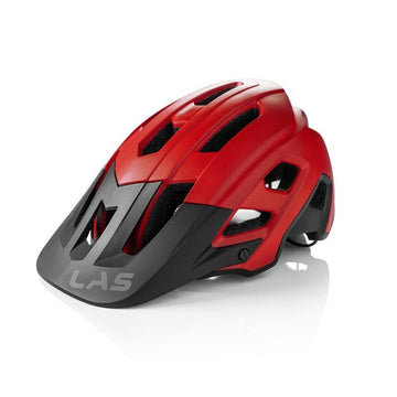 LAS Gravia Helmet - Matt Red/Black - SpinWarriors