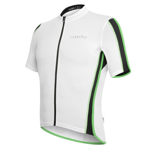 Zero rh+ Sprint Jersey FZ - White/Black/Bright Green