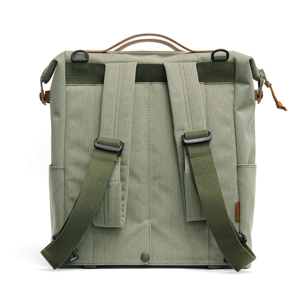 Practico Arte HGE Brompton Backpack Bag - Olive