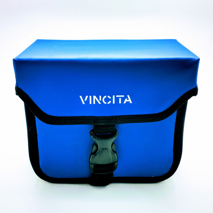 Vincita B017WP Handlebar Waterproof Bag - Blue