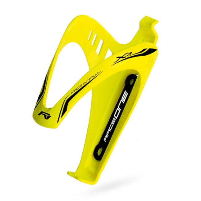 RaceOne X3 Bottle Cage - Yellow Fluo