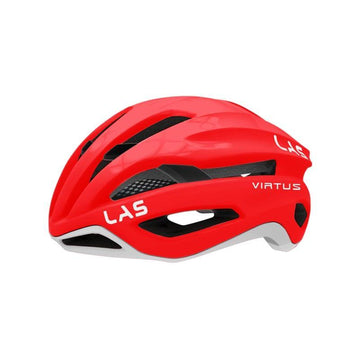 LAS Virtus Helmet - Red/White - SpinWarriors