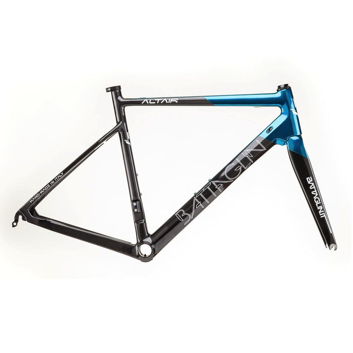 Battaglin Altair Carbon Frameset - Chromed Velvety Blue