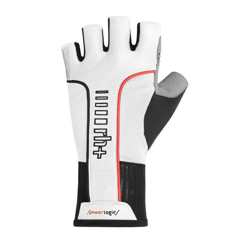Zero rh+ PW Impact Gloves - White/Black