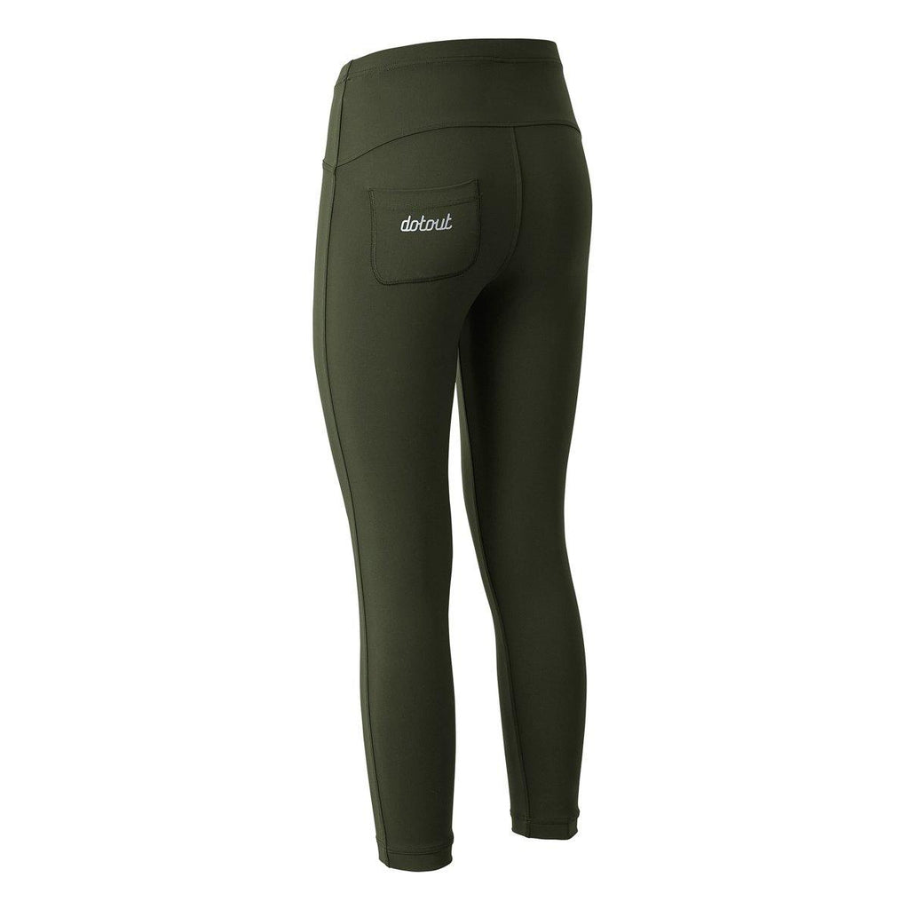 Dotout Agility Woman Pant - Deep Green