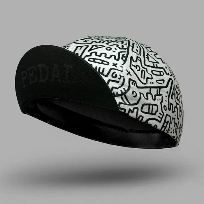 Bello Cotton Cycling Cap - Arne Clothing Doodle
