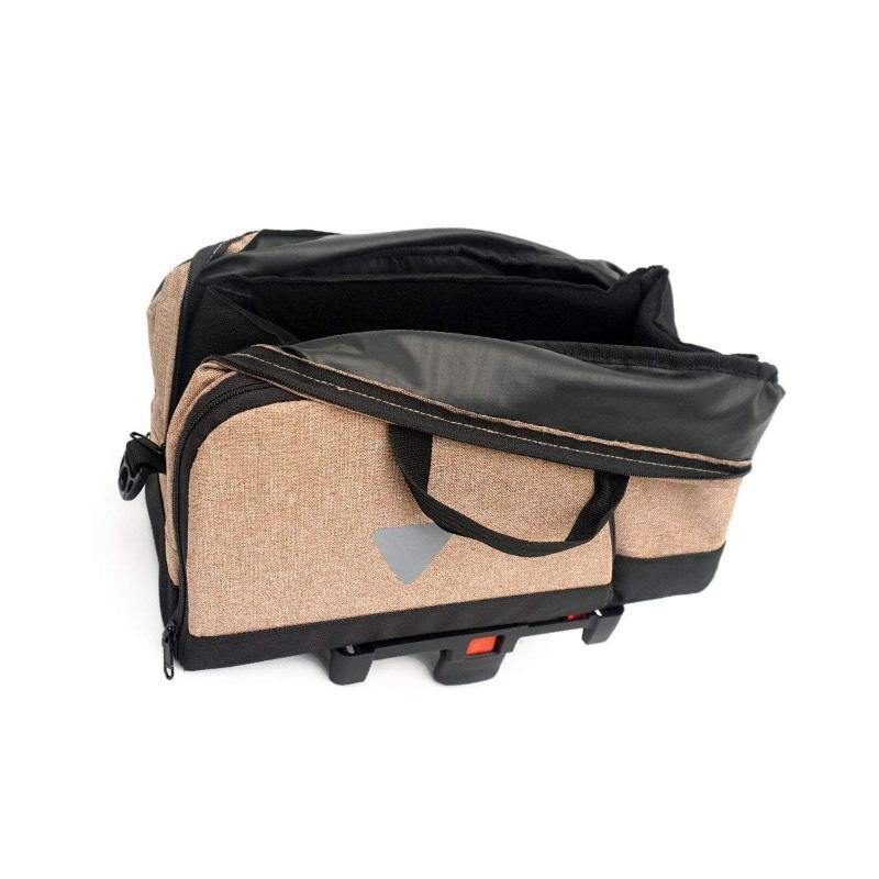 Vincita B181B-BR Brompton Klickfix Uniclip Rack Bag - Brown
