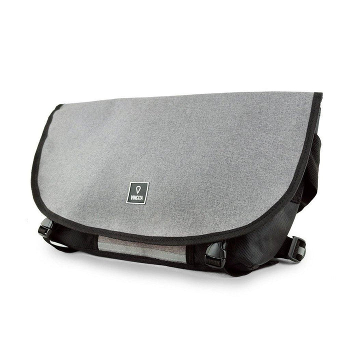Vincita B205 Medium Messenger Bag - Grey